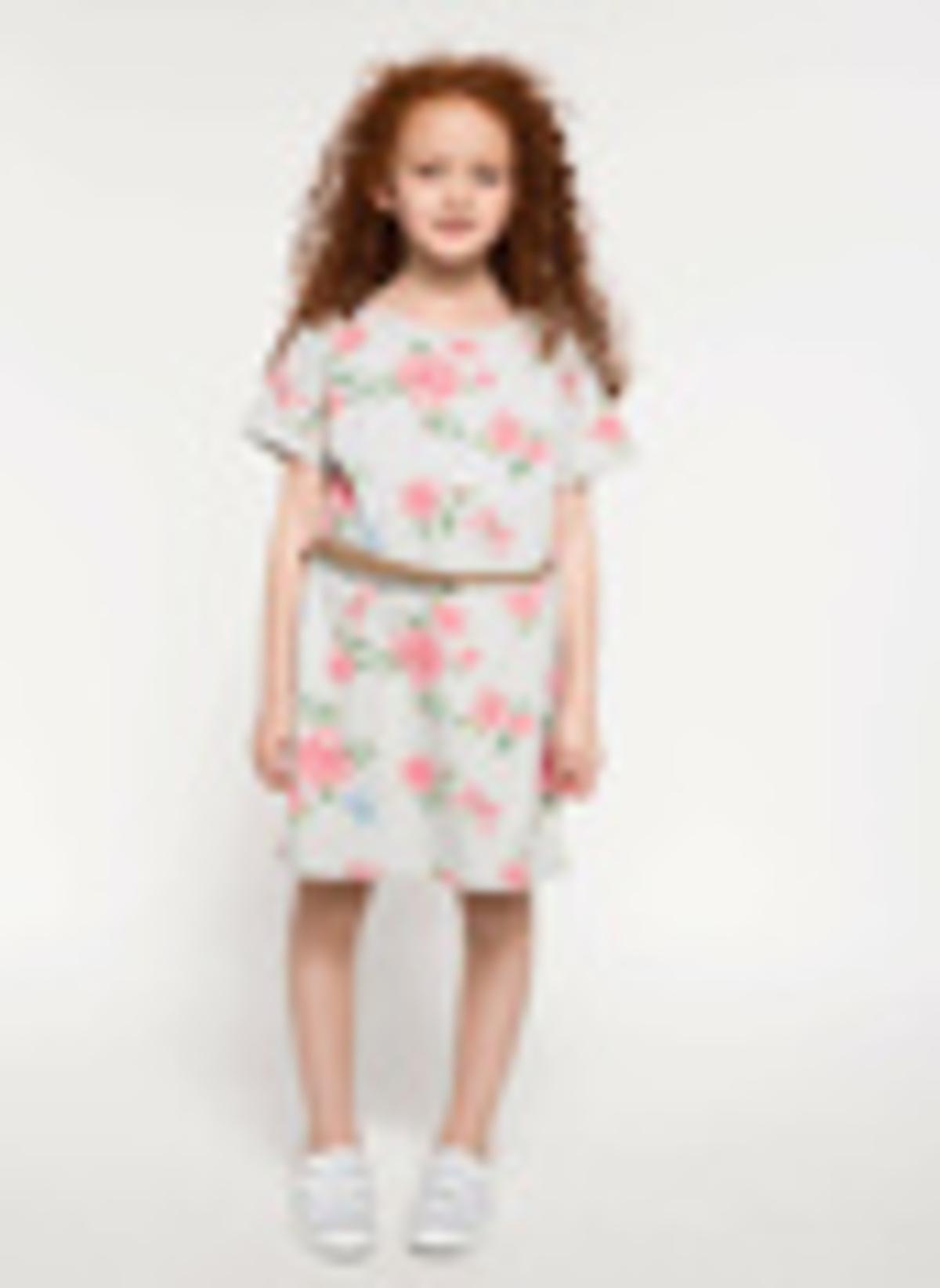 Defacto Kemer Detaylı Çiçek Baskılı Elbise I2799a618spgr28 Kemer Detaylı Çiçek Bask – 39.99 TL